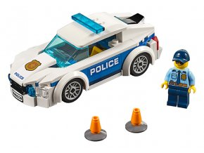 LEGO City Policejní auto skladem