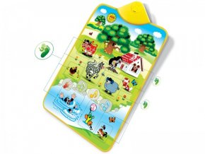Elektronická hrací podložka Krtek a zvířátka 42x61cm v krabici skladem