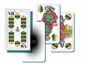 Mariáš dvouhlavý společenská hra karty