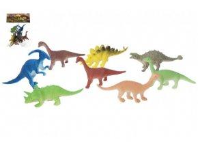 Dinosaurus 8 ks plast 10 cm v sáčku skladem