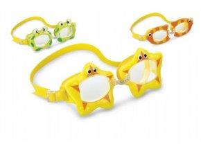 Plavecké brýle zvířátko 3-8 let skladem