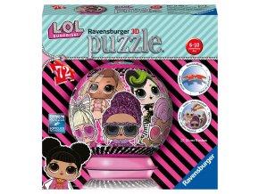 Puzzleball LOL 72 dílků skladem