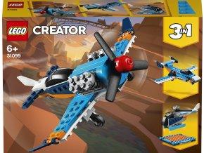 lego creators vrtulove letadlo