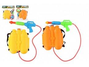 Vodní pistole s batohem/zásobníkem na záda plast 31cm skladem