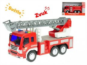 auto hasicske 27cm 1 16 na setrvacnik na baterie se svetlem a zvukem