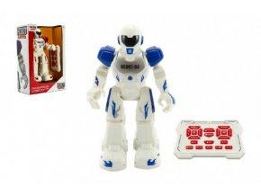 Robot chodící a tancující s ovladačem na baterie + USB kabel plast 25cm v krabici skladem