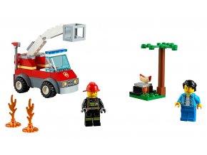 LEGO City Grilování a požár skladem