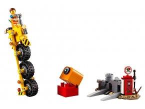 LEGO Movie Emmetova tříkolka! skladem