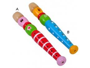 Dřevěné hudební nástroje - Flétna skladem