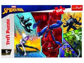 Puzzle Disney Marvel Spiderman 100 dílků