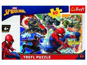 Puzzle Disney Marvel Spiderman 60 dílků