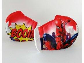 Dětská rouška - Spiderman BOOM!