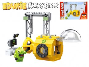 EDUKIE stavebnice Angry Birds stroj 103ks + 1figurka v krabičce
