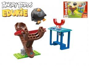 EDUKIE stavebnice Angry Birds hřiště 58ks + 1figurka v krabičce
