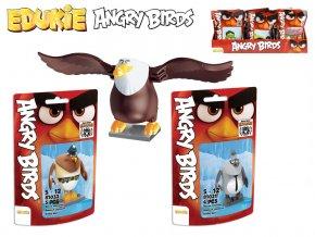 EDUKIE stavebnice Angry Birds 16druhů v sáčku 32ks v DBX