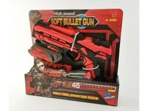 pistole cervena
