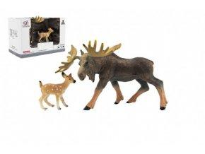 Zvířátka safari ZOO 12cm los