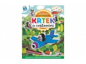 Samolepková knížka Krtek a cestování/Zábava se samolepkami skladem