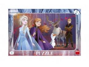 Puzzle deskové Ledové království II/Frozen II skladem