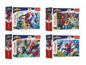 Minipuzzle 54 dílků Spidermanův čas