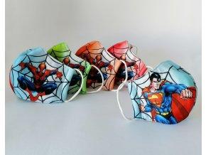 rouska pro deti spiderman superman 5