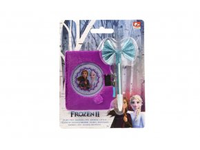 Deník plyšový s propiskou Ledové království II skladem