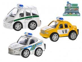 Auto policejní ČR - z minulosti po současnost (3 typy)