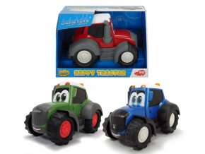 Traktor Happy 25 cm, 2 druhy skladem