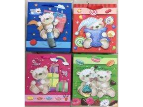 Papírová taška - Medvědi