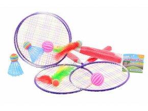 Badminton, líný tenis - set