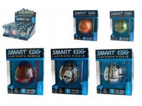 Smart Egg hlavolam bludiště plast 6x5cm asst v krabičce 12ks v boxu