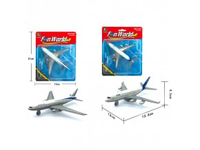 Letadlo civilní kovový model SKLADEM