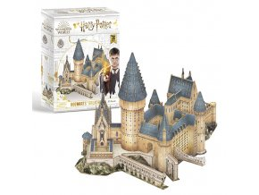 Puzzle 3D HP Bradavice ™ - Velk síň 161 dílků