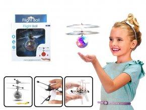 Vrtulníková koule s LED krystaly skladem