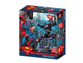 Puzzle 3D Superman vs Electro 300 dílků