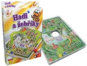 Hadi a žebříky - cestovní hra skladem