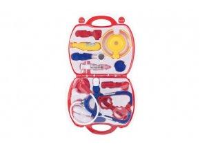 Sada doktor/lékař plast v plastovém kufříku v blistru 23x40x4cm