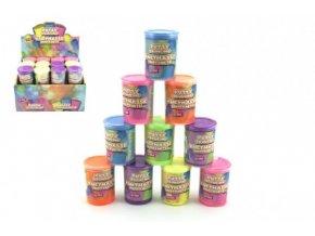 Sliz - hmota hopíková skákací 4x6cm 16ml asst 6 barev 24ks v boxu