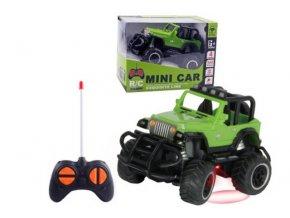 zeleny jeep na dalkove ovladani dzip