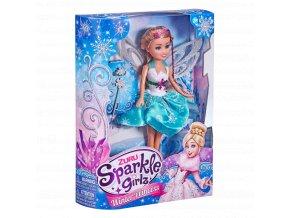 Princezna zimní Sparkle Girlz s doplňky