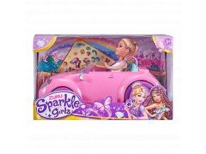 Panenka Sparkle Girlz s autem