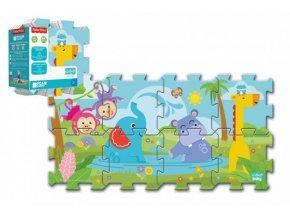 Pěnové puzzle Fisher Price Baby 31x32cm 8ks v sáčku