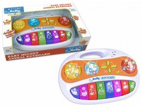 Baby Melody box s 8 klávesami