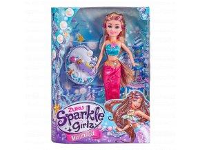 Víla mořská Sparkle Girlz s doplňky
