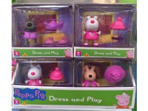 Prasátko Peppa - figurky s módními doplňky