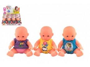 Miminko panenka kloubová tvrdé tělo plast 12cm mix barev na kartě (1 ks)