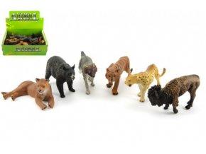 Zvířátka safari ZOO plast 10cm mix druhů (1 ks)