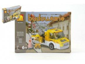 Stavebnice Dromader Auto Jeřáb 29407 156ks v krabici 25,5x18,5x4,5cm
