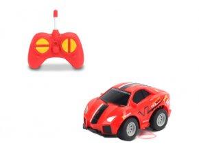 auto sportovni cervene rc 1 43