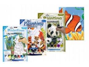 Malování podle čísel - Junior 7 barev asst skladem